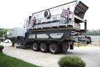 YG938E69型振动筛移动式破碎站处理建筑垃圾功能强大