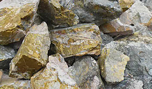 铜矿石图片
