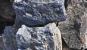 铅锌矿石图片